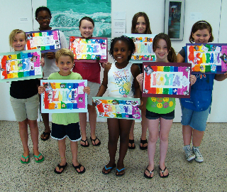 Children's Art Class Summer 2010.JPG