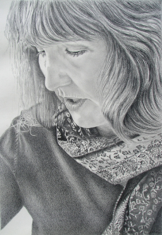 Ruff Mary Lee 'Self Portrait' Pencil 16in x 11in (2).jpg
