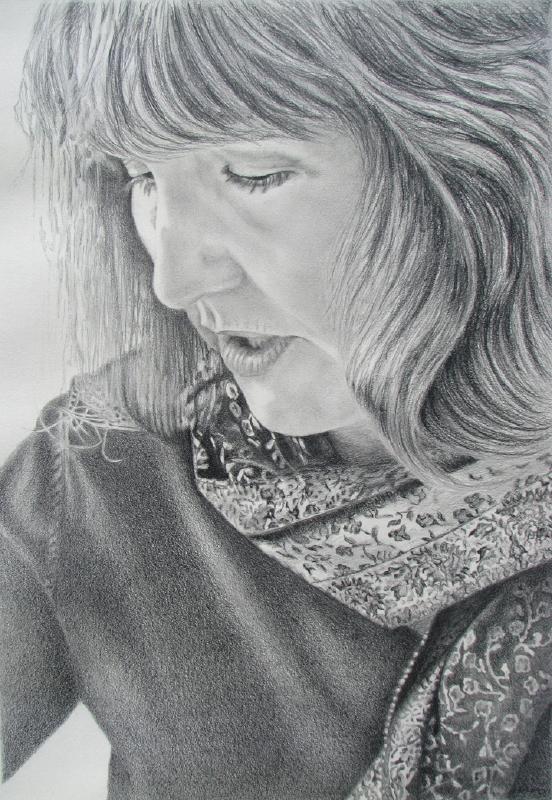 Ruff Mary Lee 'Self Portrait' Pencil.jpg